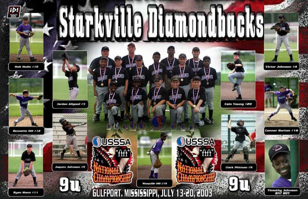 STARKVILLE DIAMONDBACKS -- STARKVILLE, MS