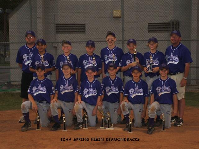 SPRING KLEIN DIAMONDBACKS -- SPRING, TXS