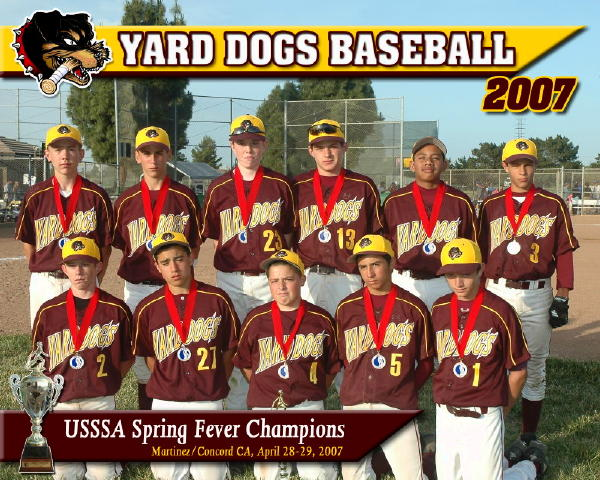 YARD DOGS -- SAN RAMON, CAN