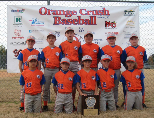 ORANGE CRUSH BASEBALL -- HANAHAN, SC