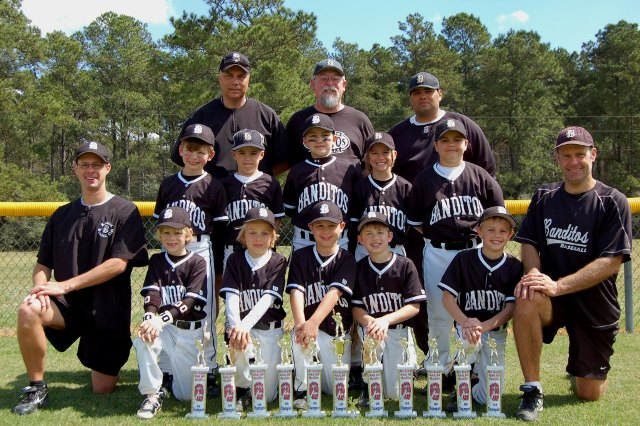 BANDITOS BLACK 8U -- CONROE, TXS