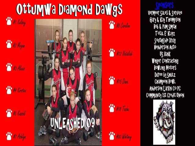 OTTUMWA DIAMOND DAWGS -- OTTUMWA, IA
