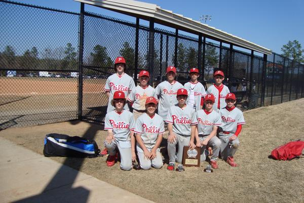 SPARTANBURG PHILLIES -- LANDRUM, SC
