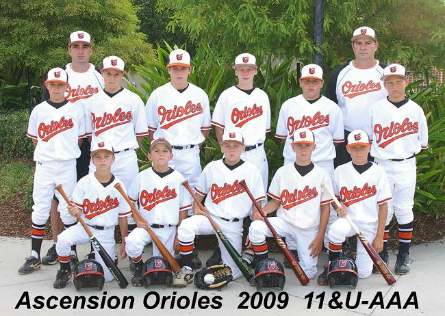 ASCENSION ORIOLES -- PRAIRIEVILLE, LA