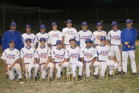 D-BAT MUSTANGS BLUE -- DALLAS, TXN