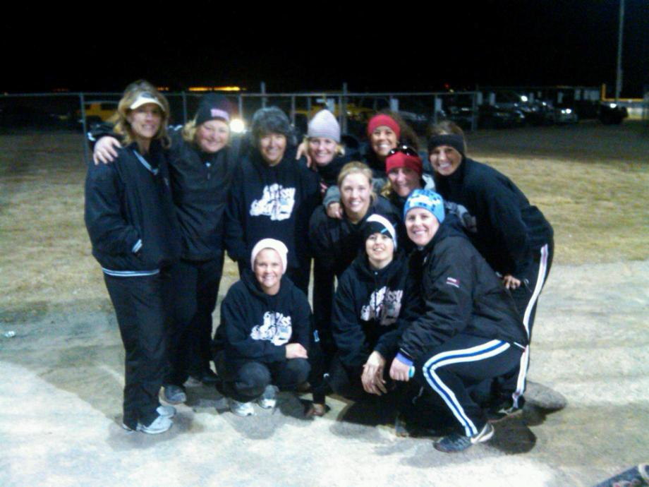 SISSY SOFTBALL SQUAD -- CASTLE ROCK, CO