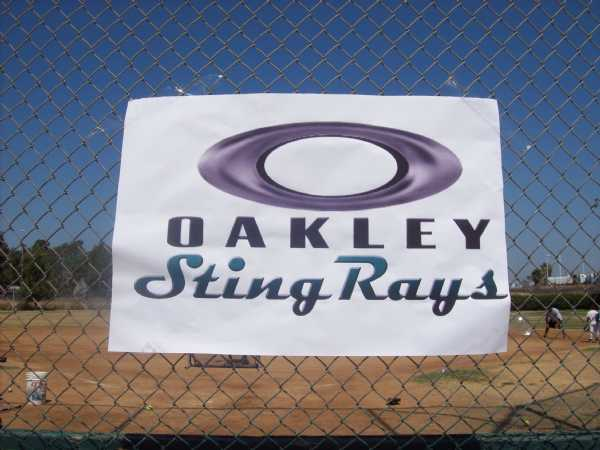 OAKLEY STINGRAYS -- NORWALK, CAS
