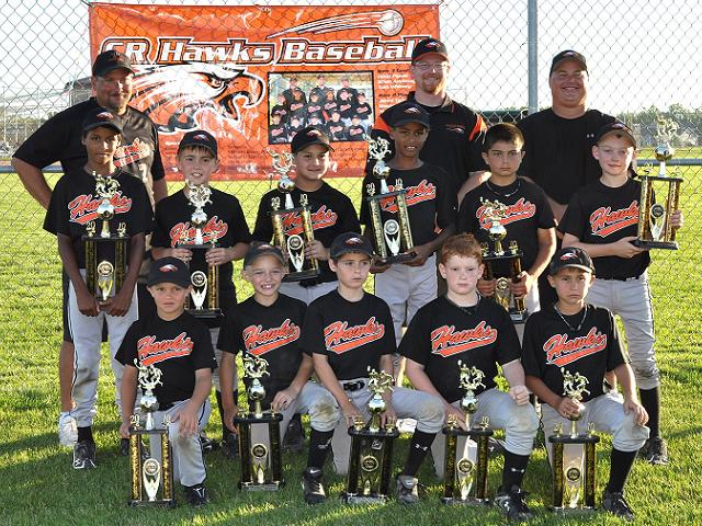 CR HAWKS BLACK 9U -- CEDAR RAPIDS, IA