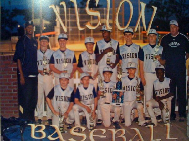 VISION BASEBALL BLUE -- OLIVEBRANCH, MS