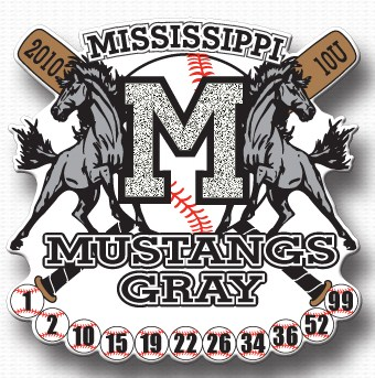 MISSISSIPPI MUSTANGS GRAY -- SOUTHAVEN, MS