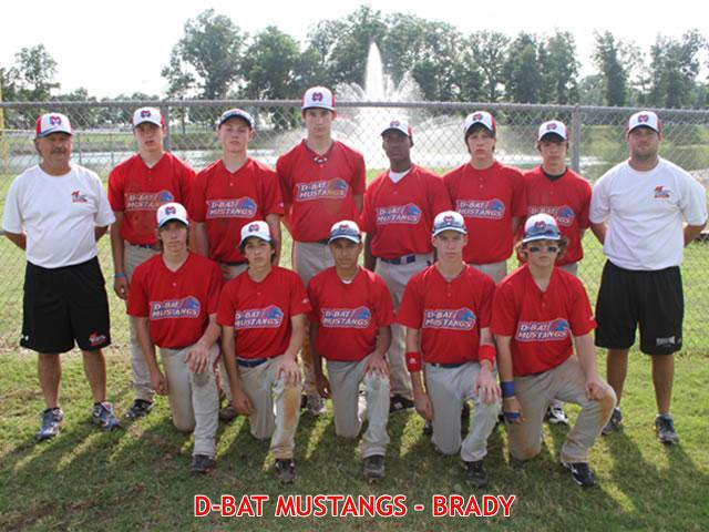 DBAT MUSTANGS-BRADY -- DALLAS, TXN