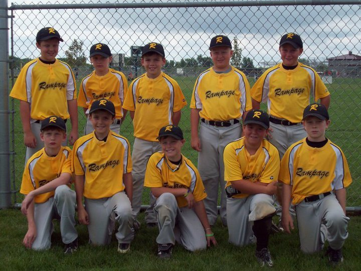 RAMS BASEBALL CLUB BLACK - 11U -- ALTOONA, IA