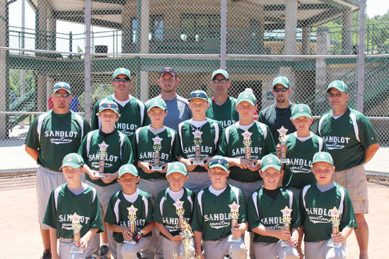 SANDLOT SPARTANS 11U -- SWITZ CITY, IN