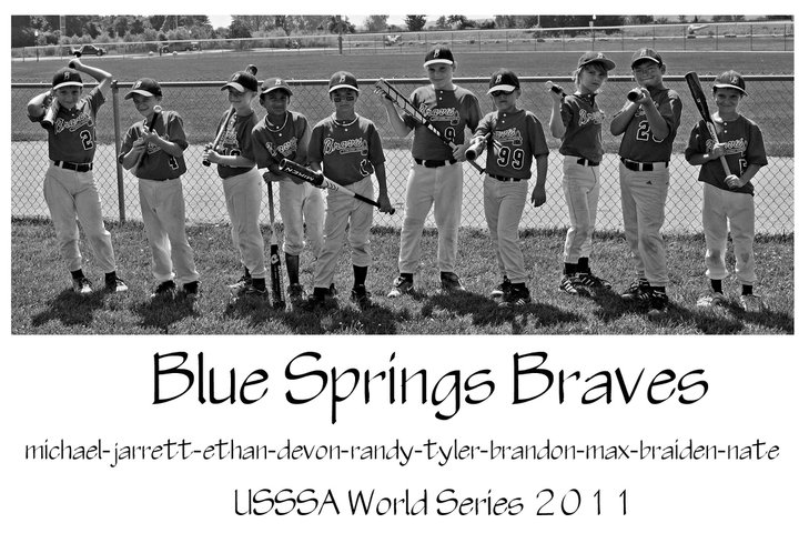 BRAVES -- BLUE SPRINGS, MO