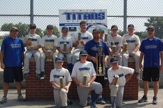 PAPILLION JUNIOR TITANS 12'S -- PAPILLION, NE