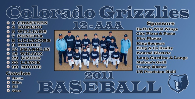 COLORADO GRIZZLIES -- ARVADA, CO