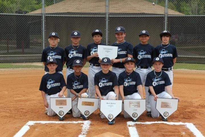 CBC OUTLAWS 10U -- WALTERBORO, SC