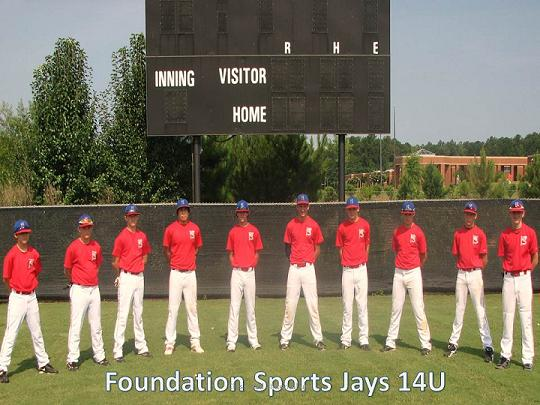FOUNDATION SPORTS JAYS -- LOVEJOY, GA