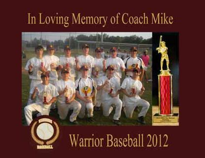 WARRIORS BASEBALL -- BRANDON, MS