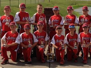 WEST TN INDIANS 8U -- MCKENZIE, TNW