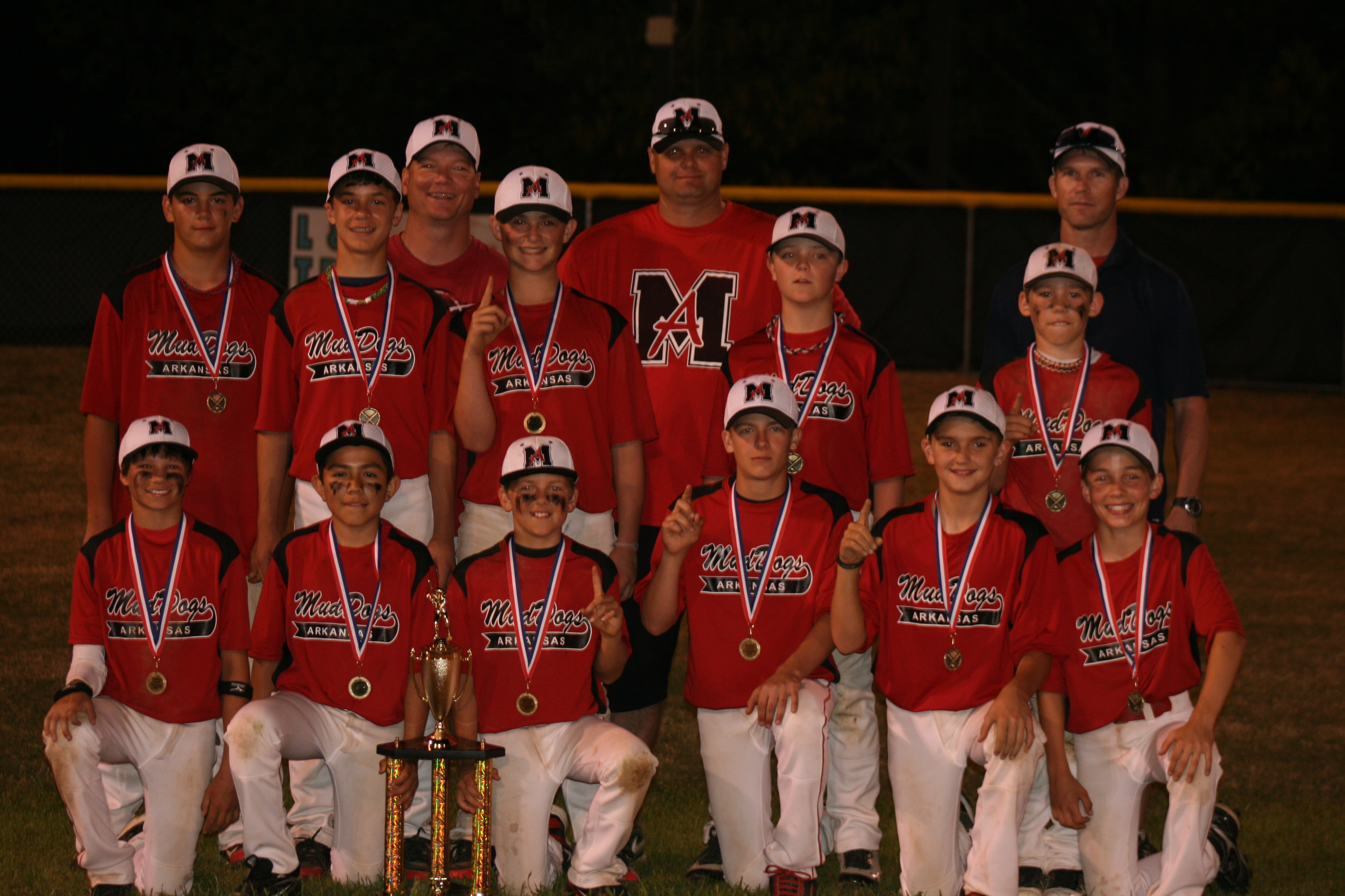 RAWLINGS SPRINGDALE MUDDOGS -- SPRINGDALE, AR