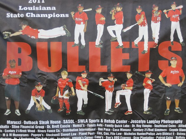 BULLET BASEBALL RED 10U -- LAKE CHARLES, LA